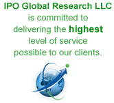 IPO Global Research Service Statement
